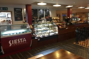PHOTO: Inside ABP's Siesta Coffee branch