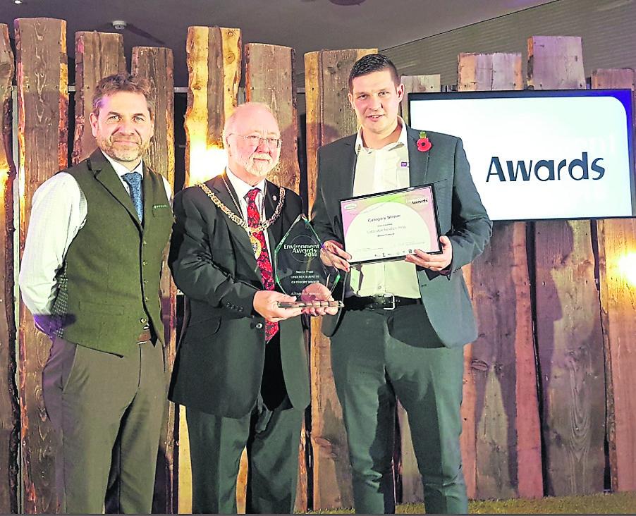 Newton Press wins Environment Award
